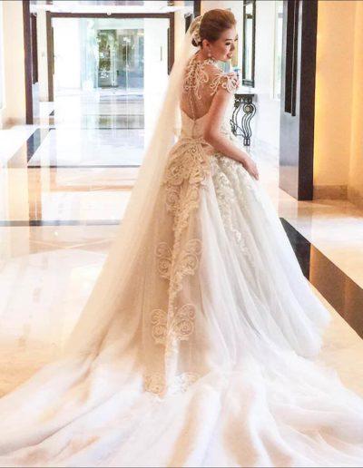 Bride Pam