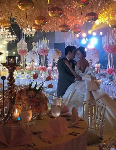 Bride Ella and Raynier