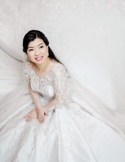 Bride Christina Strigas