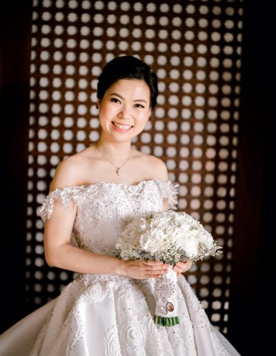 Bride Michelle Ong