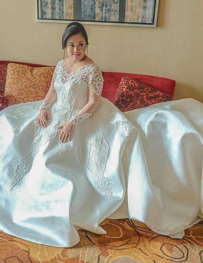 Bride Karen