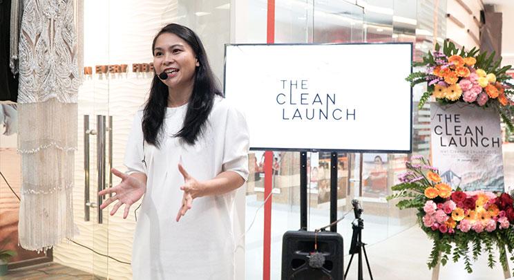 Reviva explaining the clean launch